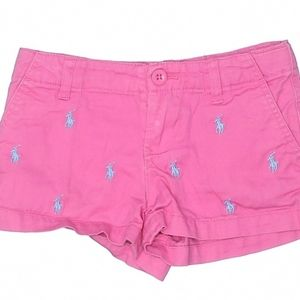 Polo by Ralph Lauren Pink Shorts Girl's 5